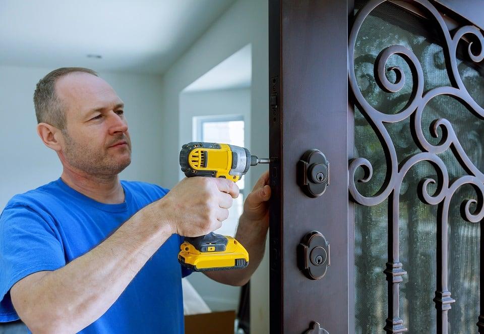 door installation cost
