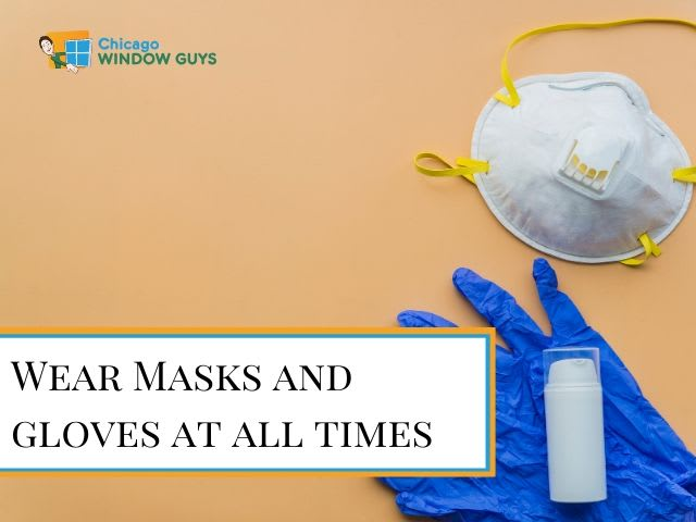 Masks and gloves for Covid-19