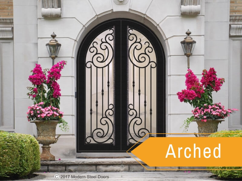 Arched Style Door