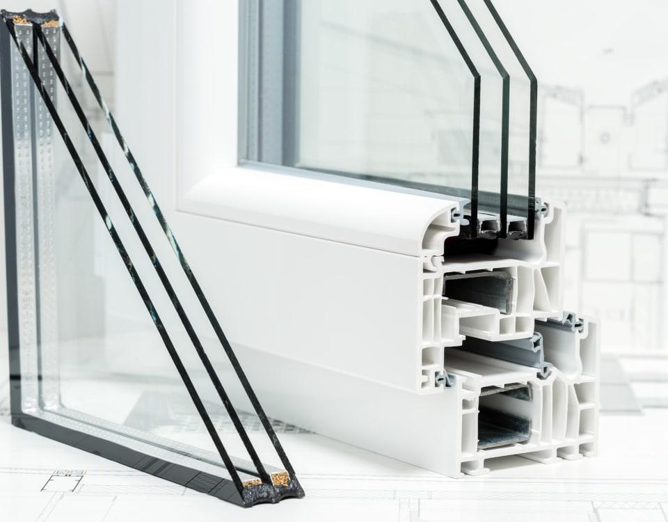 triple pane windows