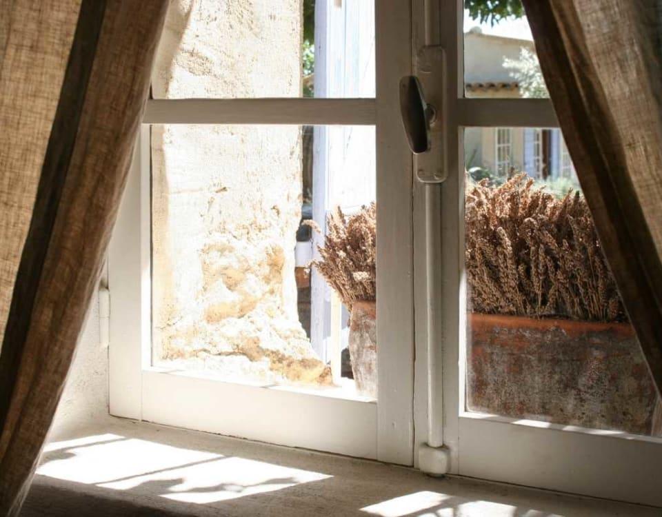 Very old window