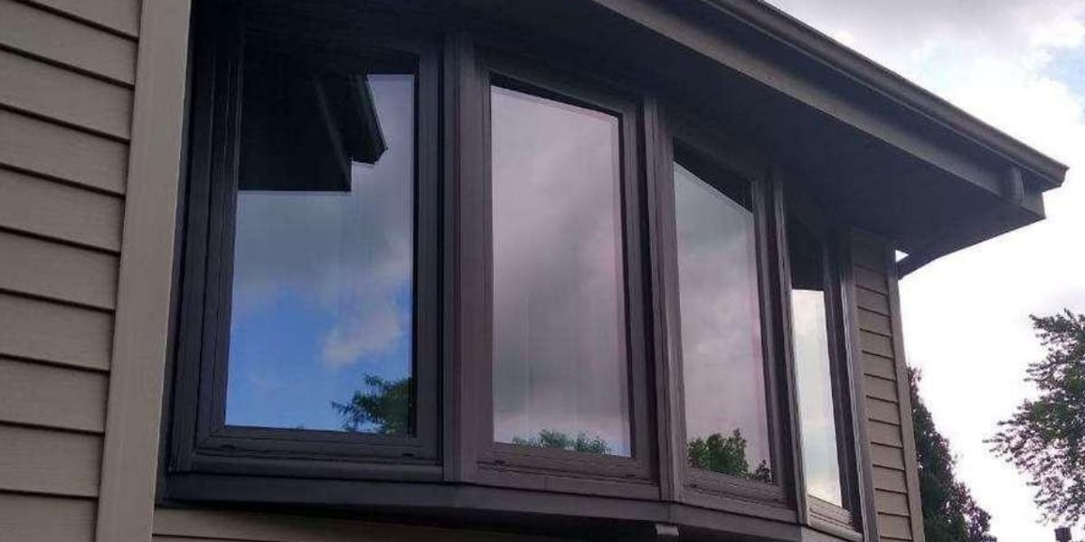 Bow Window Installation at Dyer IN