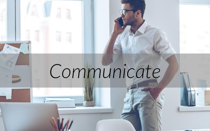 Be sure you excellent communication with the renter