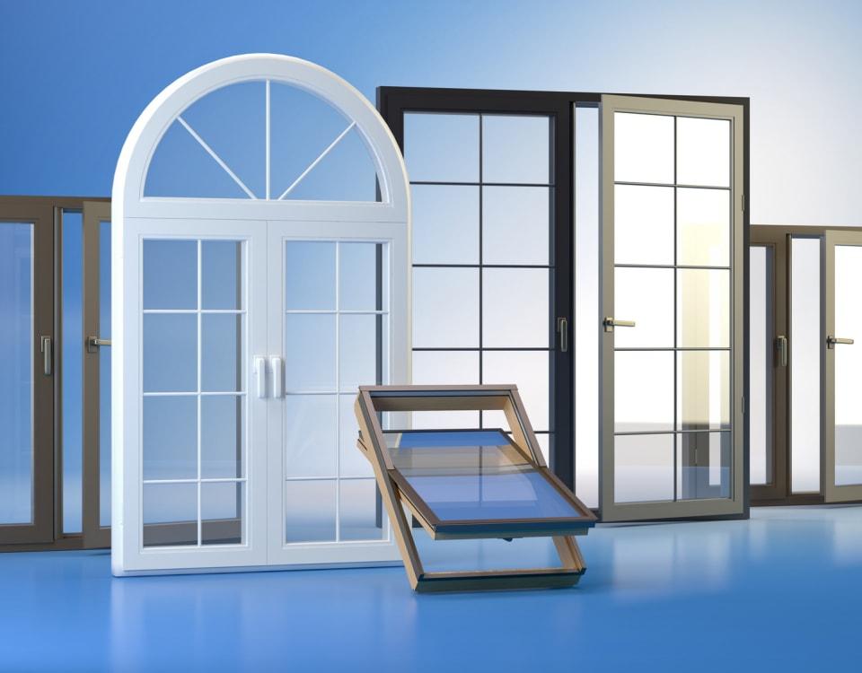 types of window frames