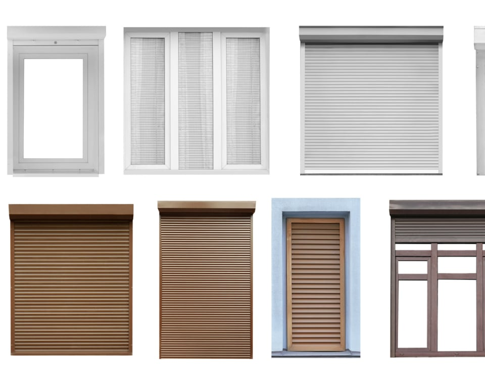 different types of windows