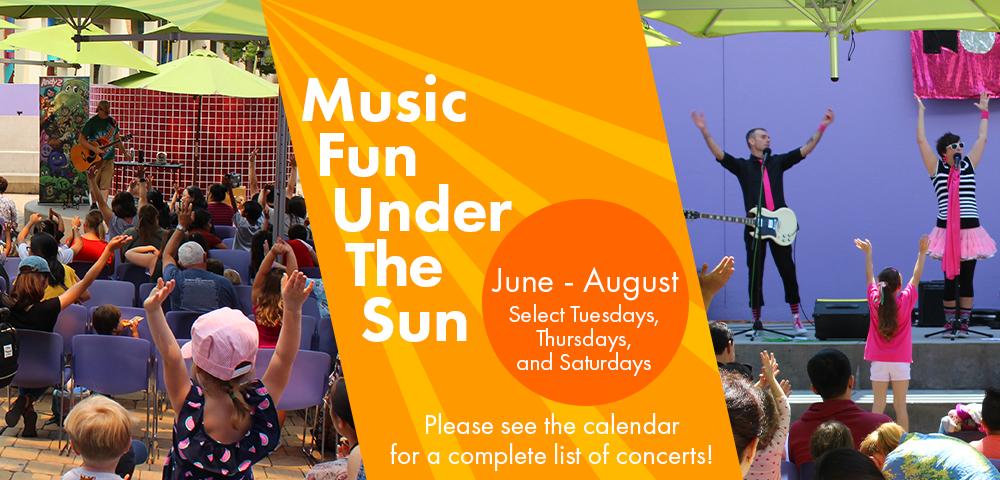 Music Fun under the Sun Schedule