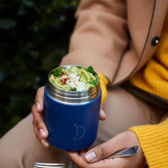 Two sizes, eight colours, double-walled vacuum insulation and a no-spill screw top lid … that's your alfresco lunch sorted
