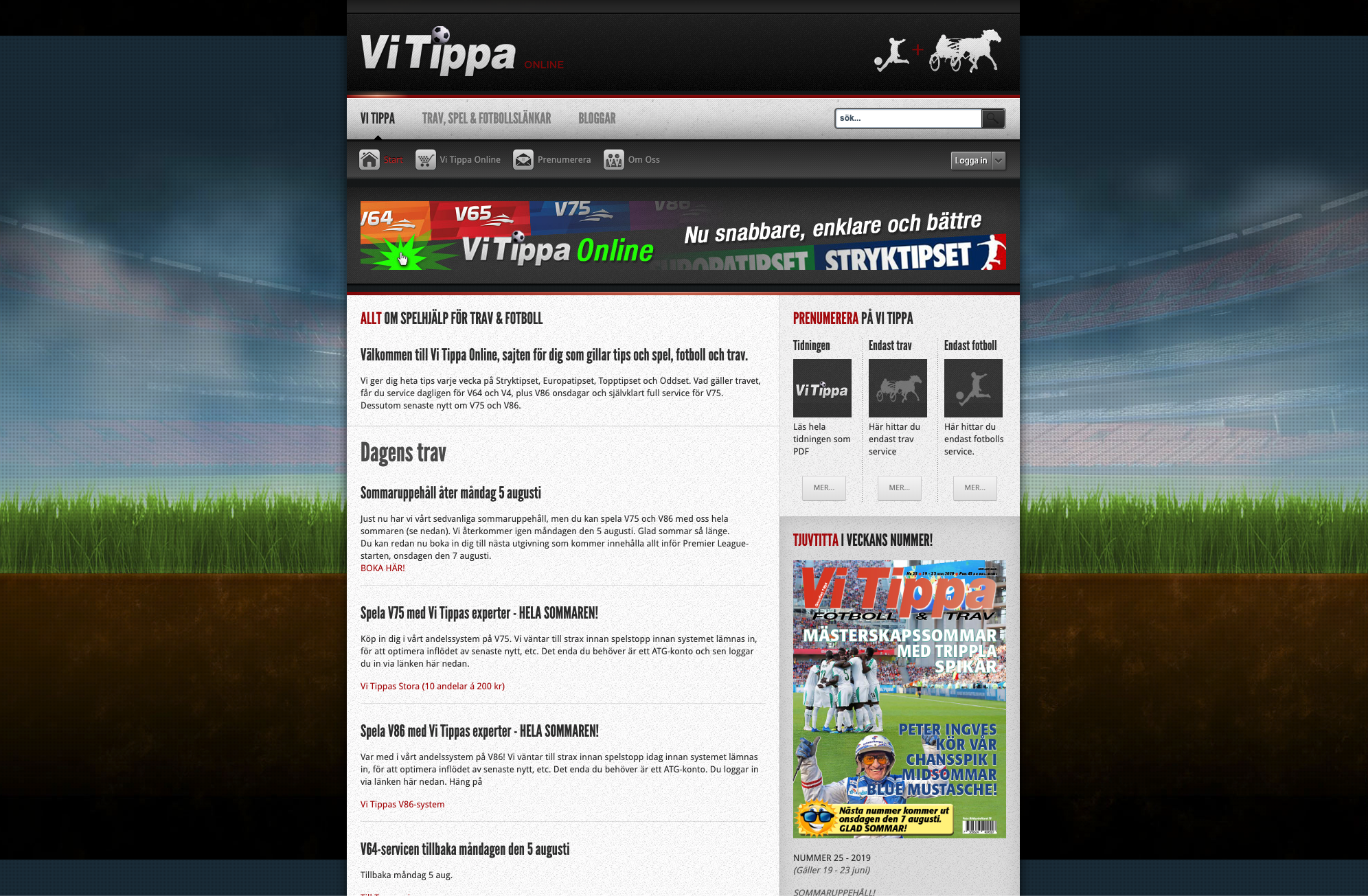 Digital Sports Magazine Vi Tippa