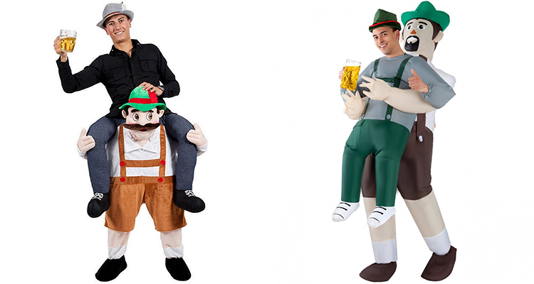 bavarian inflatable costume