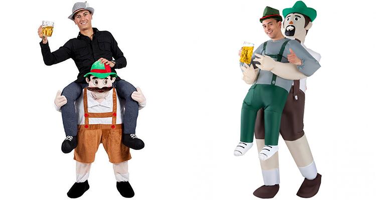 bavarian inflatable costume