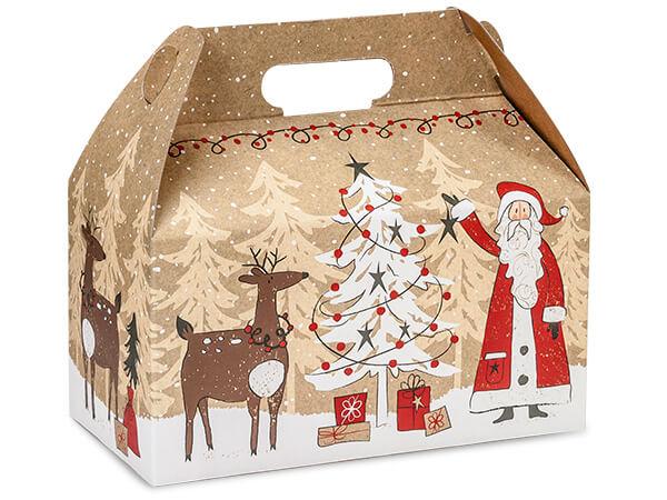 Christmas gable box