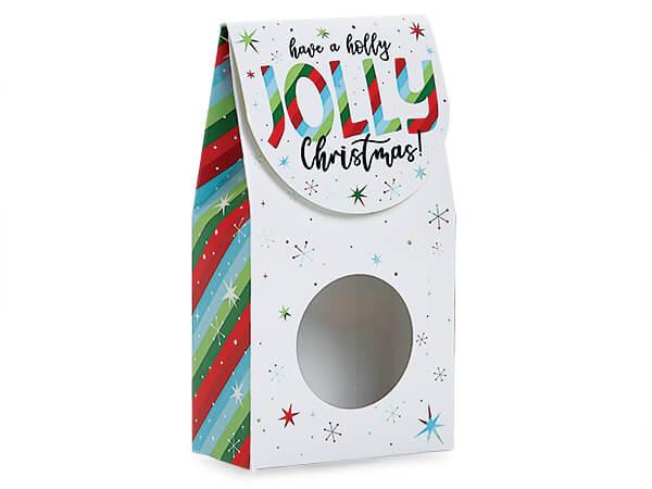 Christmas window favor and gift box