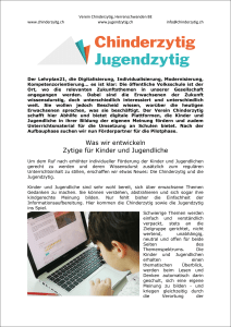 Chinderzytig idee PDF
