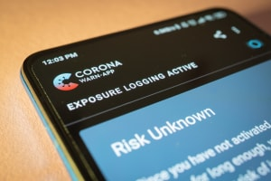 Corona smartphone application