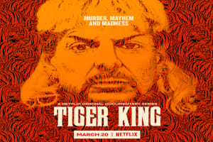 Key art for Netflix's series Tiger King: Murder, Mayhem and Madness