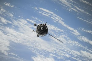 Satellite in orbit