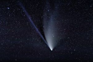 Comet NEOWISE photographed from a dark site near Bowser, B.C. Canada
