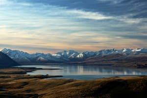 Das Bild zeigt eine Naturalandschaft von Neuseeland