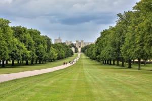 Der Weg zum britischen Königshaus