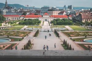 Das Bild zeigt Wien, Österreich