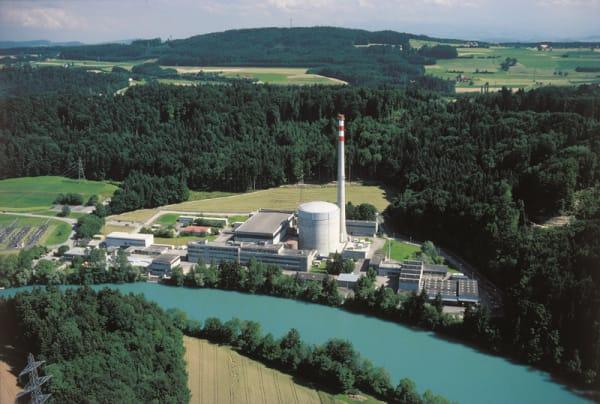 Mühleberg Nuclear Power Plant - Via Wikimedia Commons