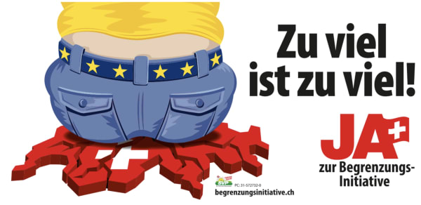 The SVP's latest campaign to end the migration of persons to Switzerland through European freedom of movment