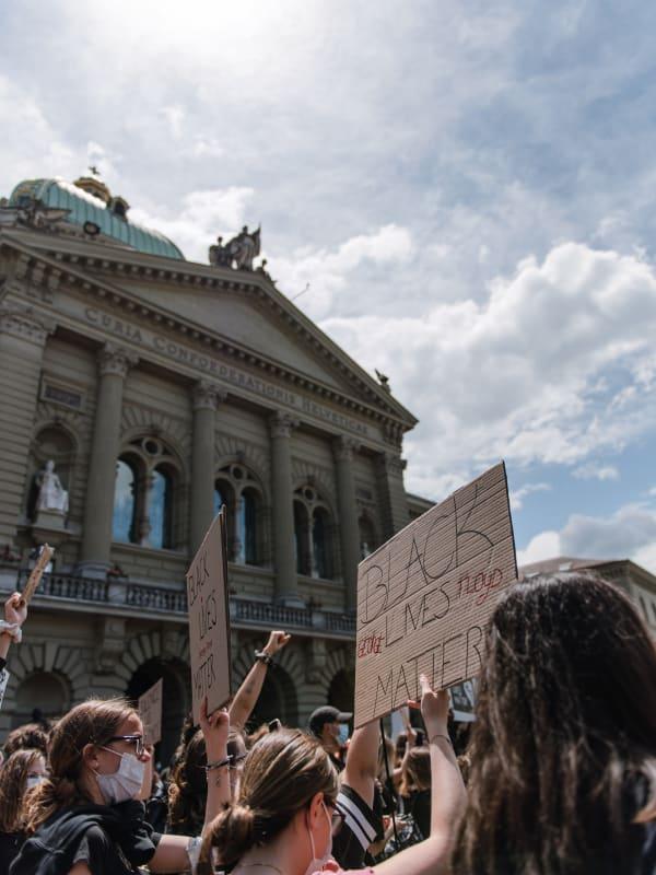 Black Lives Matter Protest, Bern, Switzerland