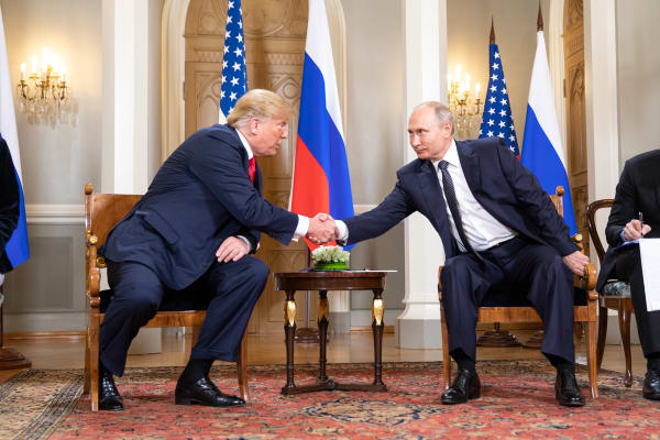 President Donald J. Trump and President Vladimir Putin of the Russian Federation | July 16, 2018