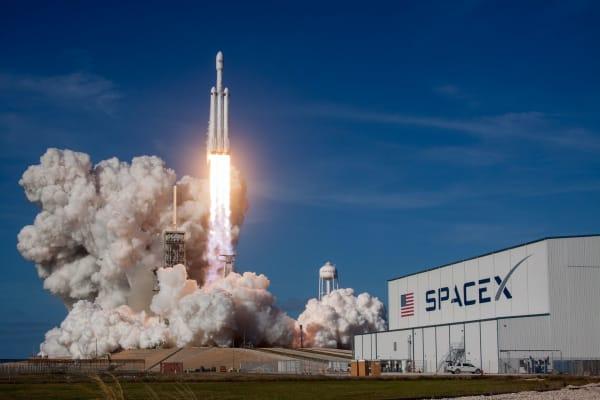 SpaceX Falcon Heavy Demo Mission