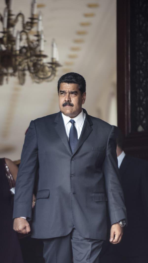 Portrait of Nicolás Maduro