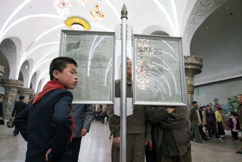 Die Nordkoreaner leiden unter der korrupten Regierung