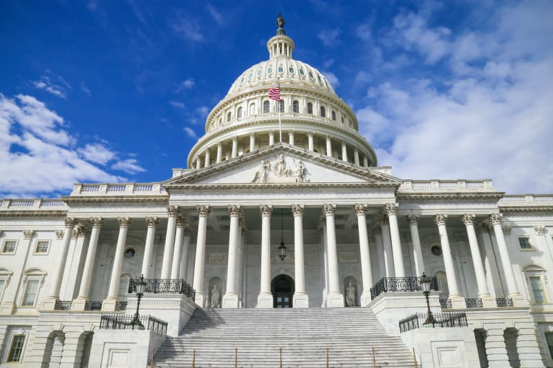 Das Kapitol der Vereinigten Staaten