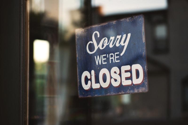 Die Restaurants bleiben aufgrund der Pandemie nach wie vor geschlossen