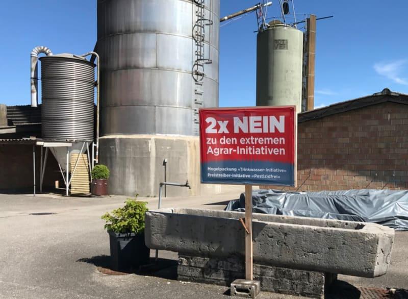 Nein zu den extremen Agrar-Initiativen