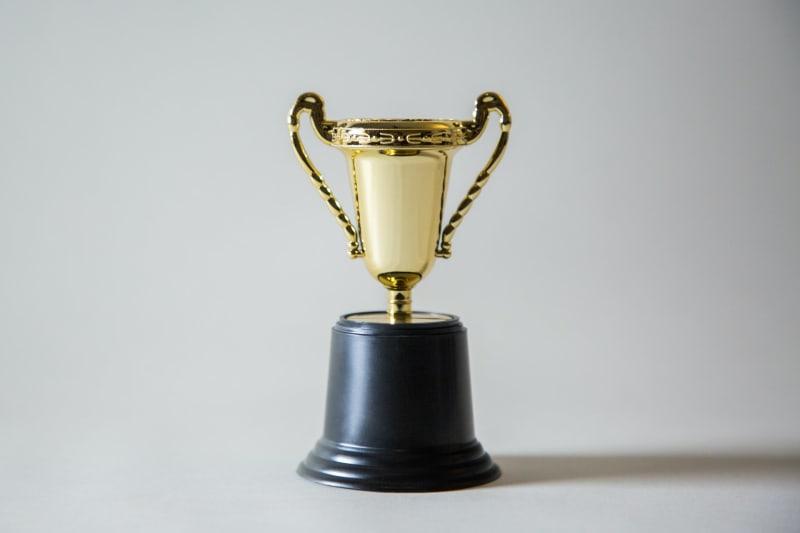 Das Bild zeigt einen Siegerpokal