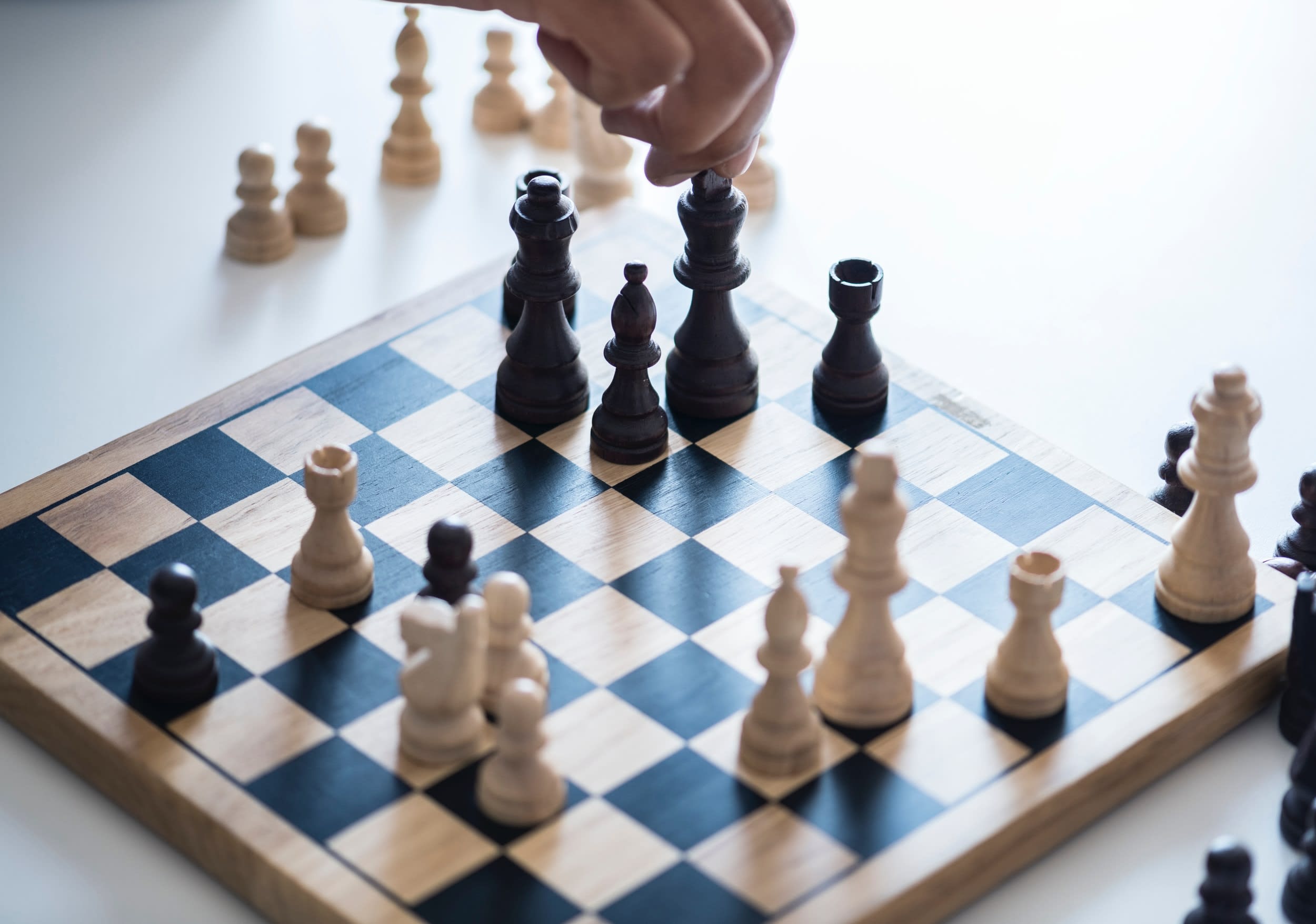 Beratung Strategie chess