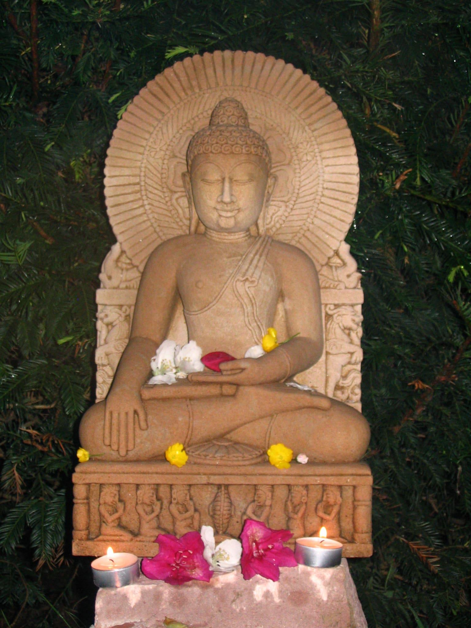 Cranio-sacral-Ausbildung + Kurse Buddha 1