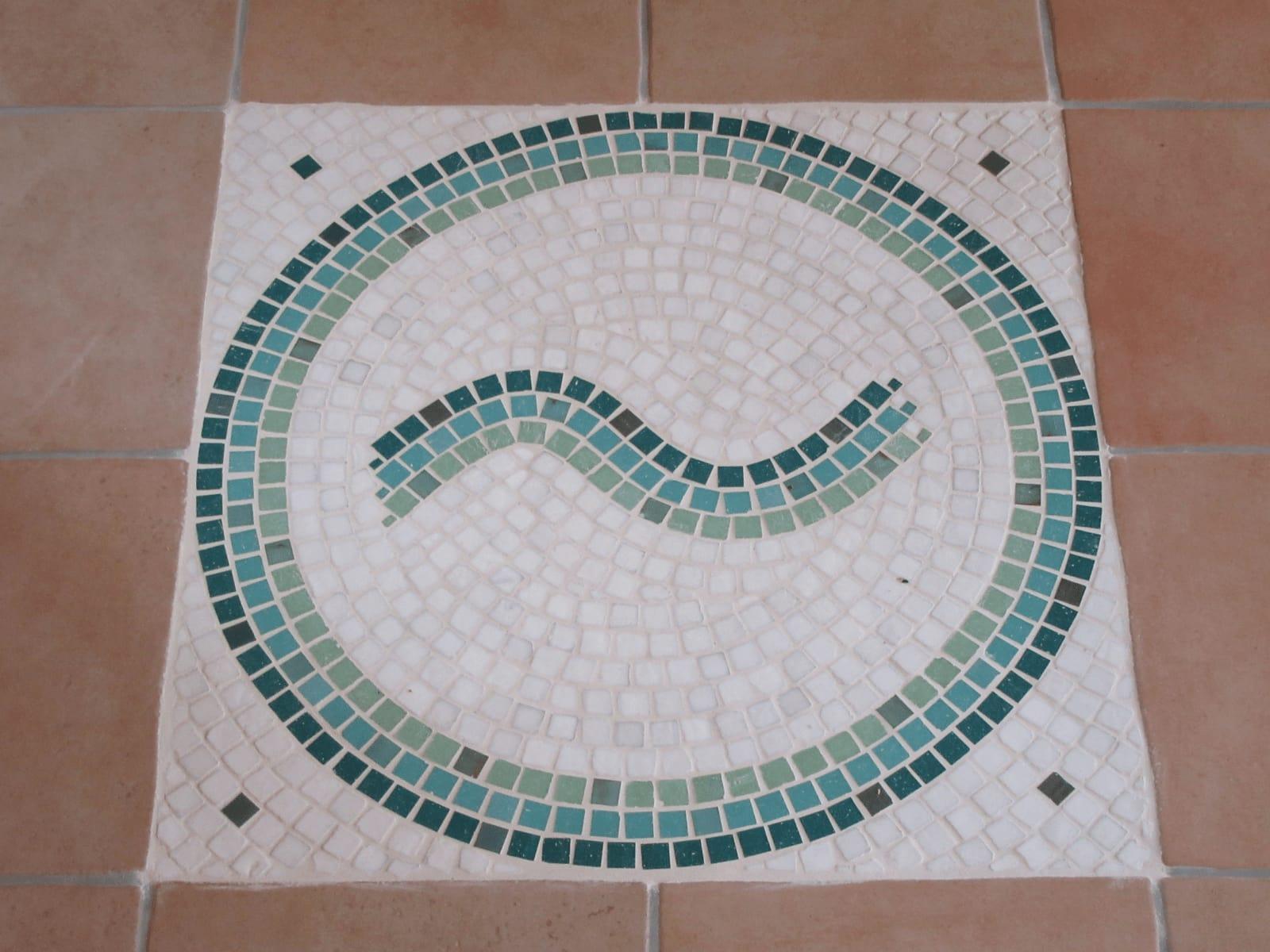 Schule für CranioSacral Healing Logo als Mosaik