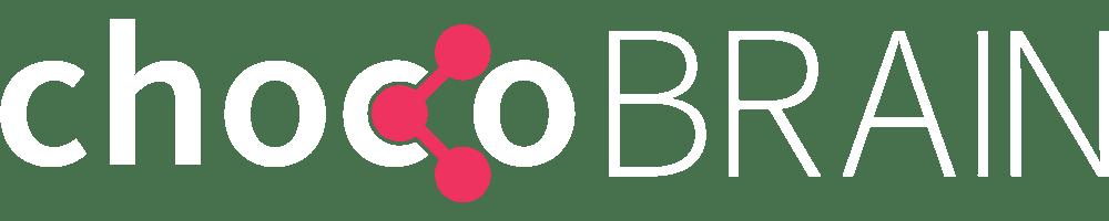 chocoBRAIN Logo weiß