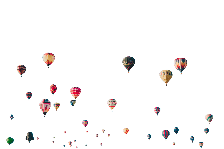 balloons-freigestellt, abgeschnittene Ballons entfernt-ian-dooley-407846-unsplash