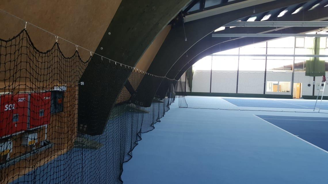 Tennishalle Tennisclub Bad Neustadt Saale blau