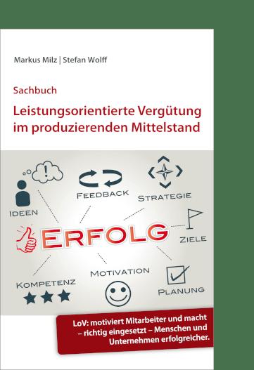 Cover Sachbuch Leistungsorientierte Vergütung im produzierenden Mittelstand