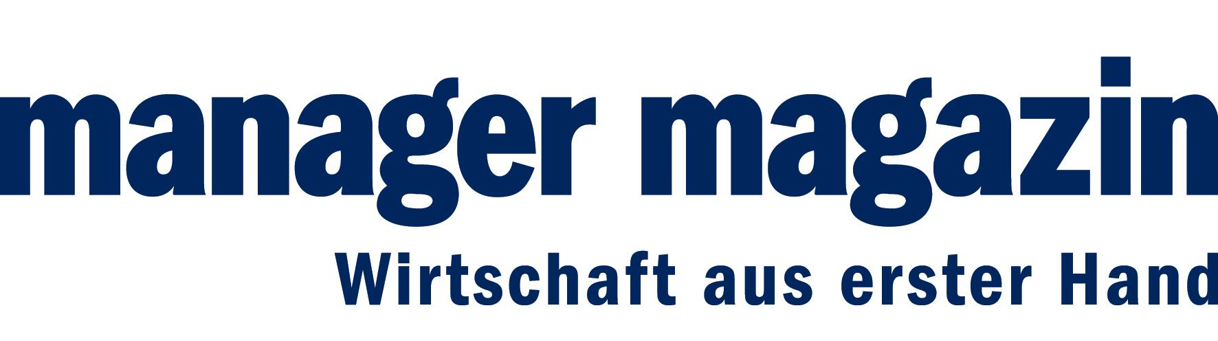 Logo Manager Magazin Wirtschaft aus erster Hand