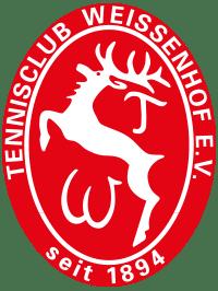 Tennisclub Weissenhof Stuttgart Logo Farbe rot