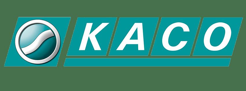 KACO Logo Tochtergesellschaft von WEGU