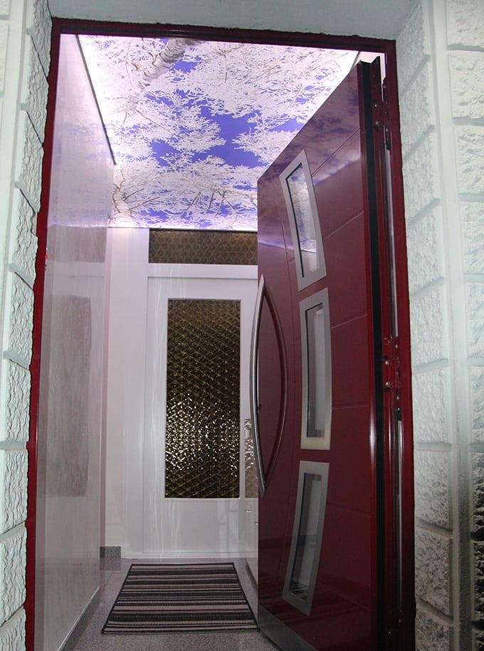 Wohnraum / Eingangsflur mit Himmel Spanndecke