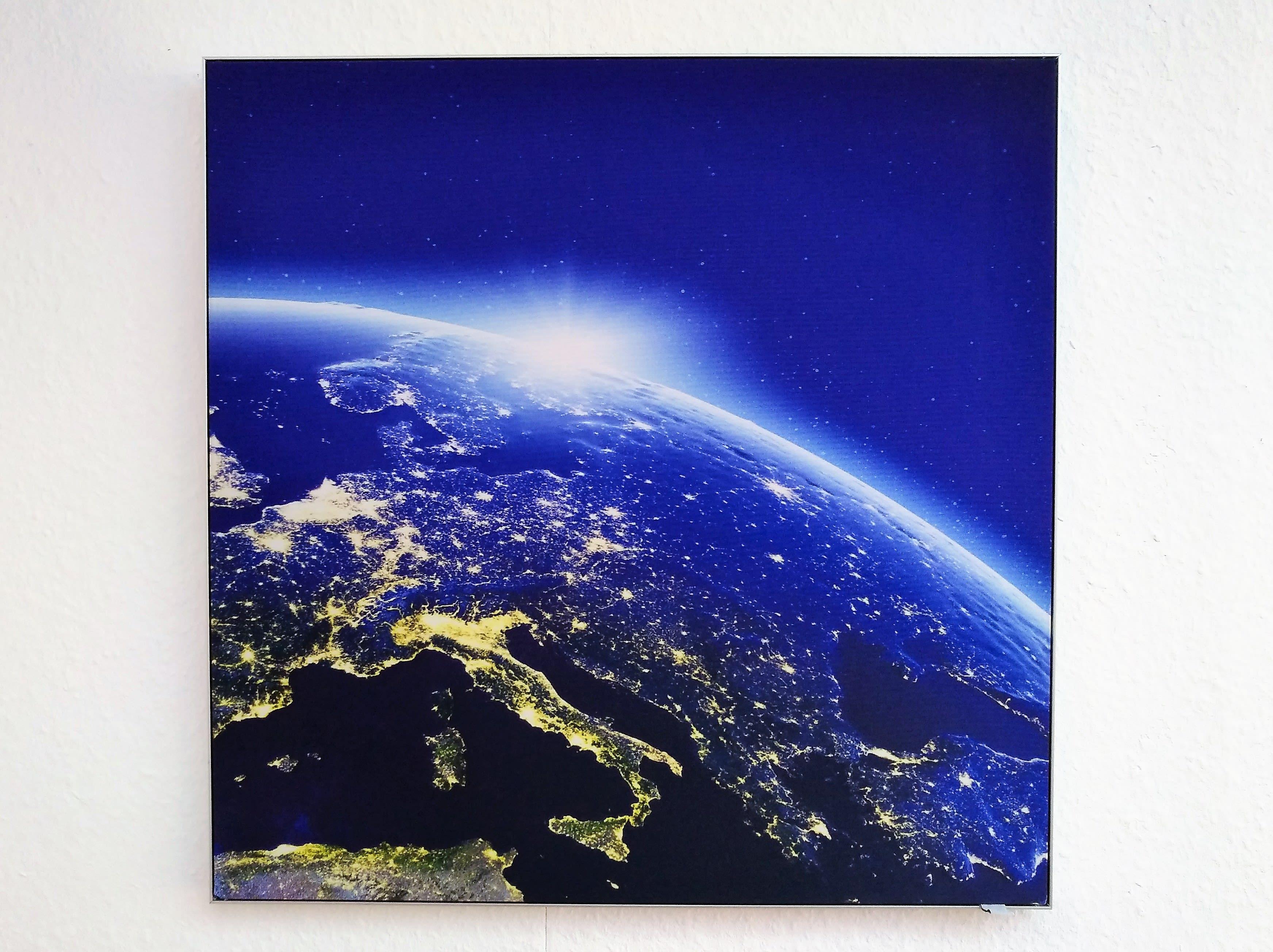 Bild von Motivwand mit Motiv Erde All