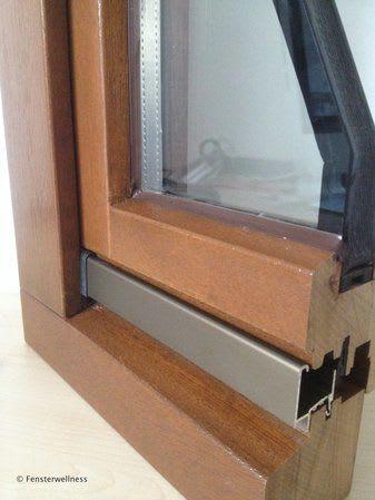 Fenster ohne Flügelabdeckschiene
