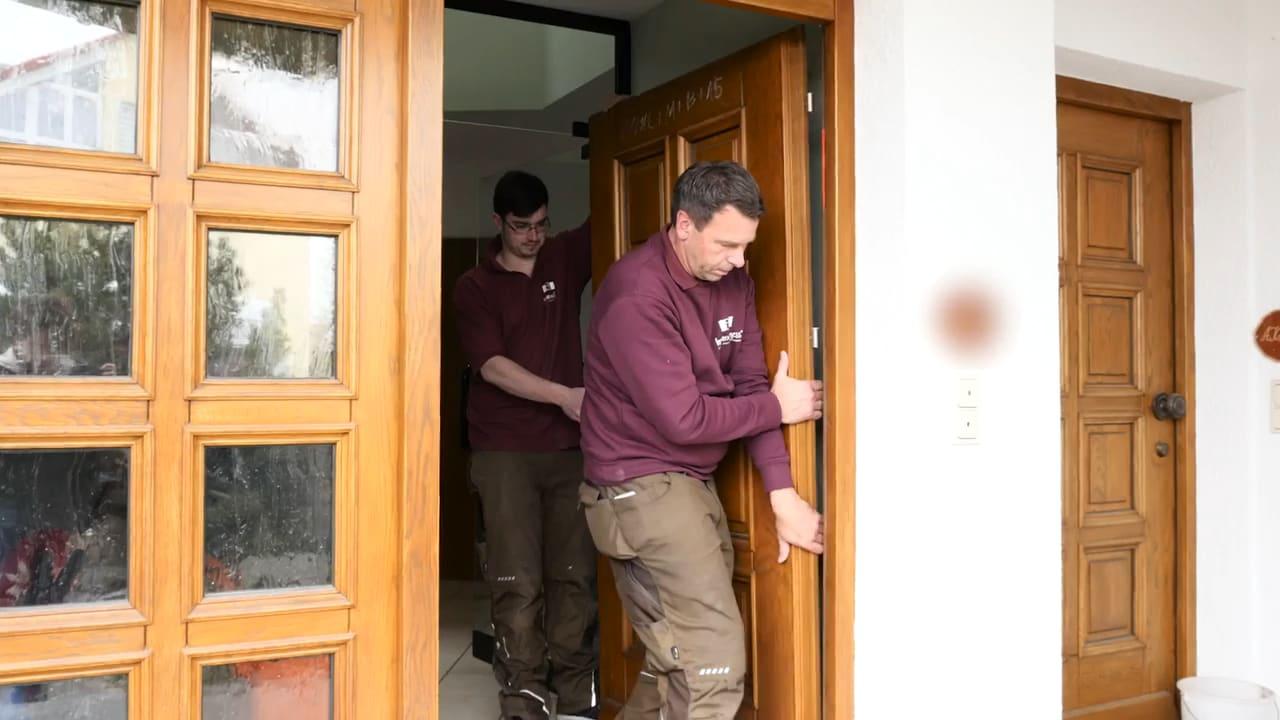 Fensterwellness beim Tür einbauen