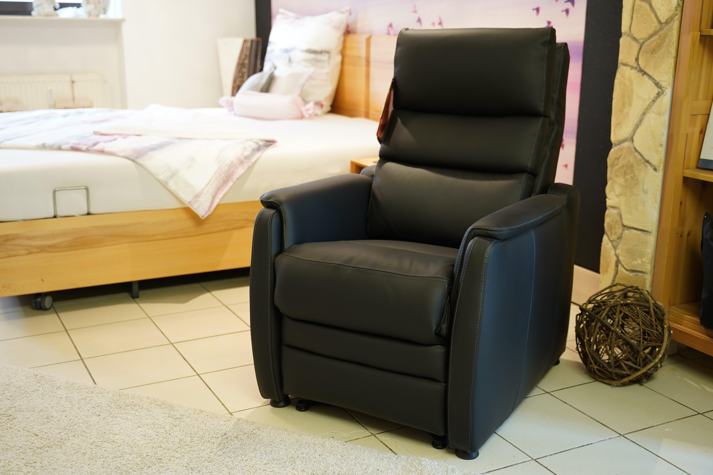 Sessel mit Aufstehhilfe Sitzposition